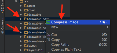 compress multi images